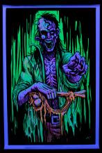 Poster fluo : Zombie Stalker