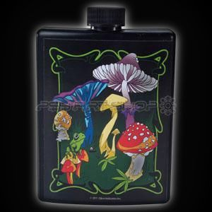 Shrooms Flask