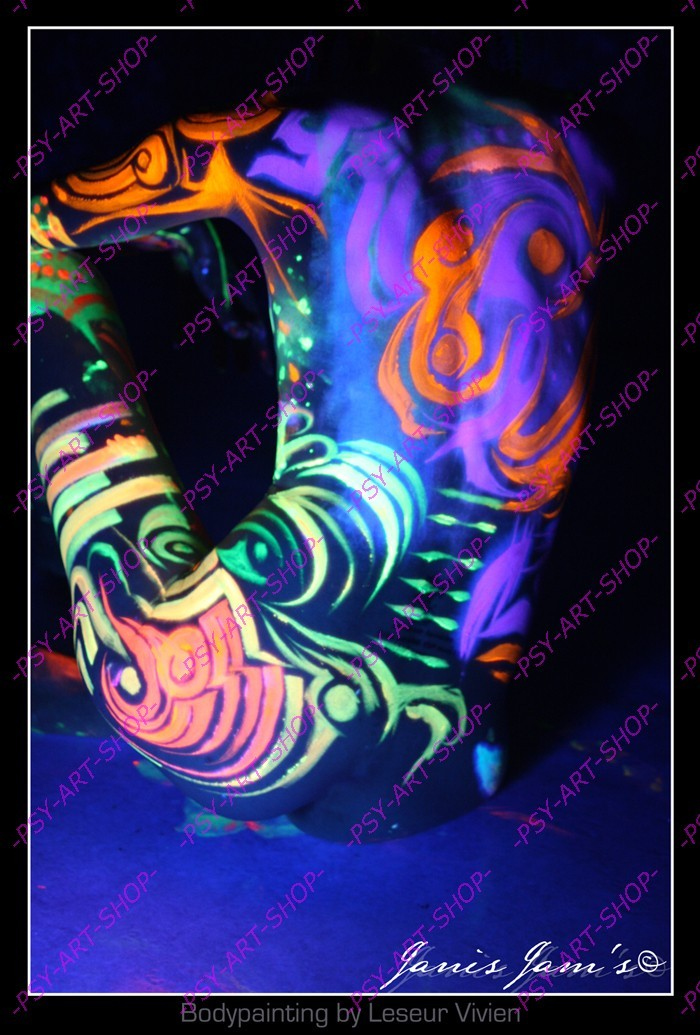 www.psy,art,shop.com  Maquillage FLUO, Peinture fluorescente, lumière  noire , Tentures psy UV, Laine fluo, peinture FLUO, décoration, Acid art,  blotter Art