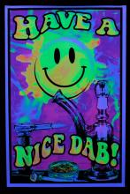 Poster psychedelic :  Have A Nice Dab