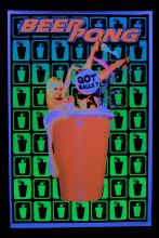 Poster fluo : Beer Pong