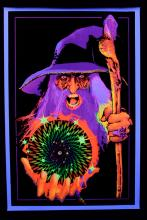 Blacklight Poster : Mystic Wizard