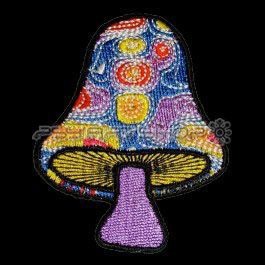 Patch Psychedelic Mushroom #3