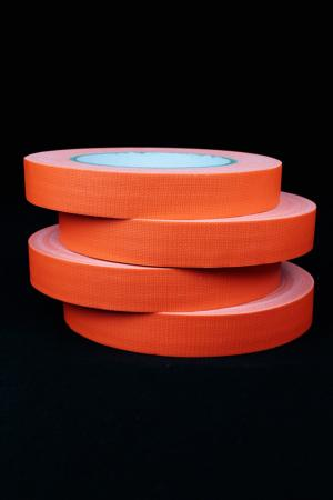 Adhesif fluo Orange 19mm x 100m plastifié