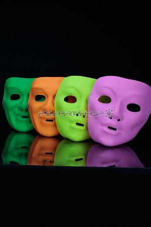 Lot de 12 masques Opera  fluo
