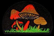 Patch Orange Mushroom
