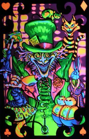Poster fluorescent