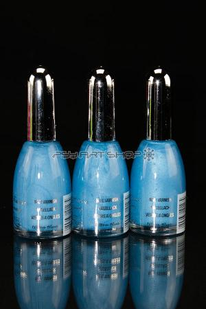 Vernis à ongles Uv actif blue