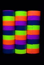 Lot de 54 serpentins fluo multicolores