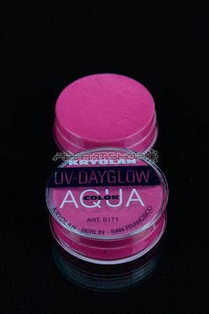 Fard à l'eau Aquacolor fluo 8g ROSE