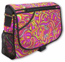 Sac à bandoulière UV motif Psy Candy Splash