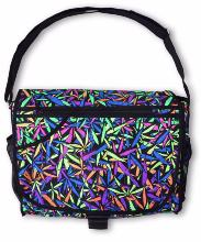 Sac à bandoulière UV motif Psy Juicy Fruit Weed