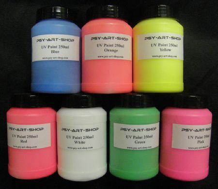 Notre gamme peinture fluo achat peinture fluo sp ciale - Peinture murale rose fluo ...