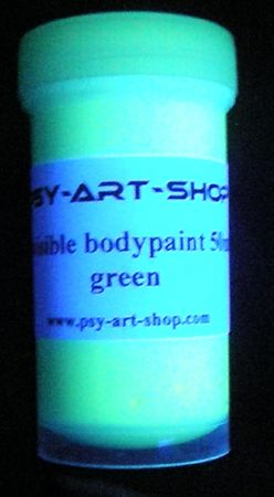 UV Bodypaint invisible 45ml Vert