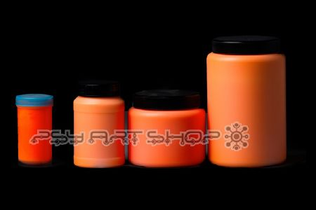 Peinture fluorescente 500ml UV active ORANGE