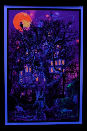 Poster fluo :  Treehouse