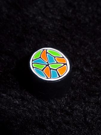 Plug multicolore 13 mm