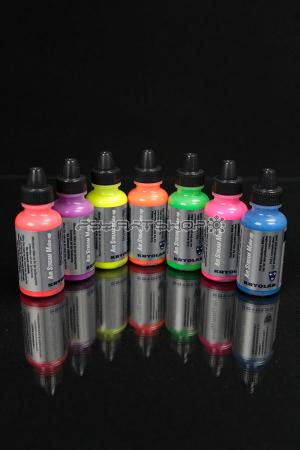 Pack AIR STREAM 7 couleurs fluorescentes 15 ml