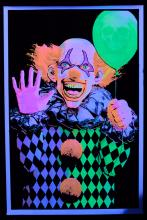 Poster fluo :  Evil Clown