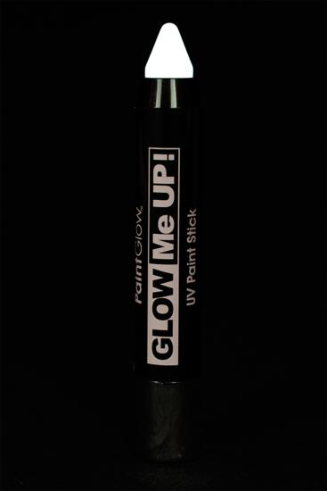 Crayon maquillage fluo large UV blanc