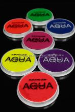 Pack Aquacolor 7 couleurs fluorescentes 15g