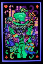 z-Blacklight Poster : THE MAD HATTE